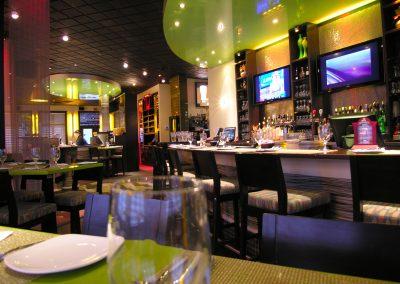 Restaurant-Bar Les Frères Toc / Design intégral et aménagement intérieur du restaurant-bar