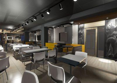 Restaurant-Bar L'Introuvable / Aménagement intérieur et design intégral du restaurant-bar à Laurier Station
