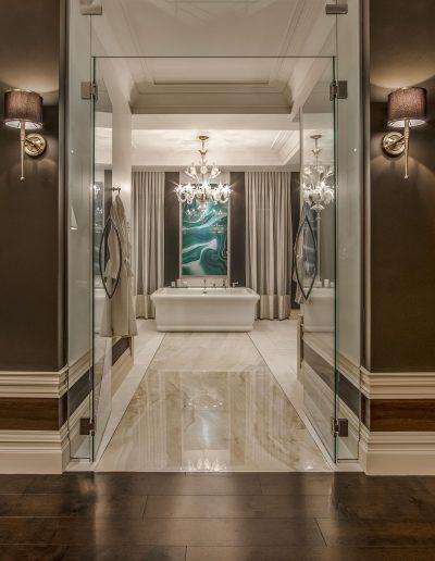 Résidence de prestige Le Grand Classique / Design intérieur de la salle de bain
