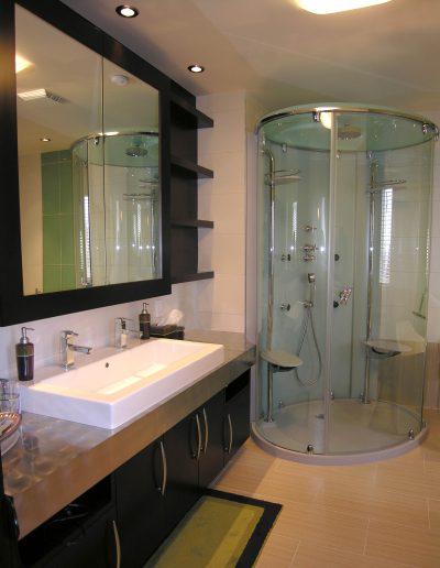 Rénovation d'une salle de bain contemporaine
